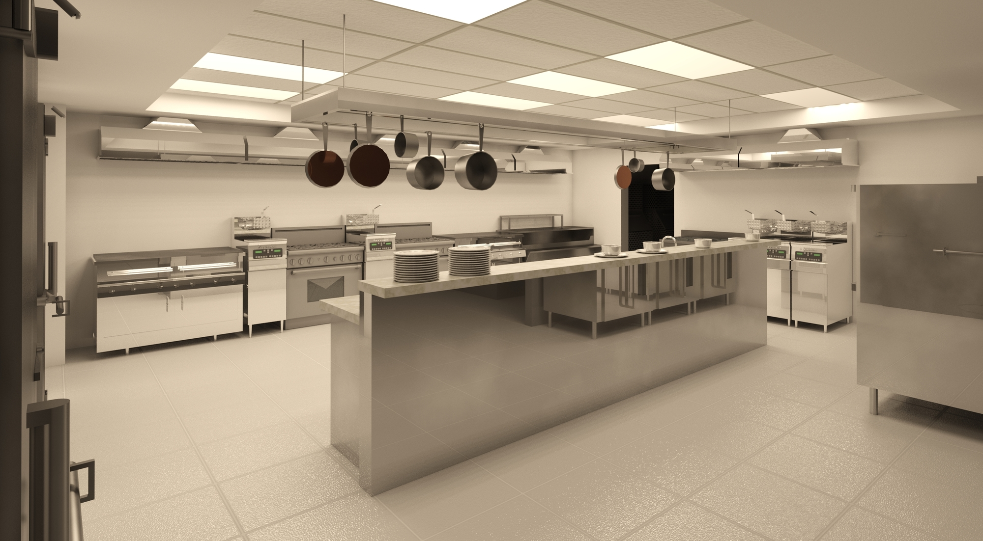 Cocina industrial autodesk online gallery for Valor cocina industrial
