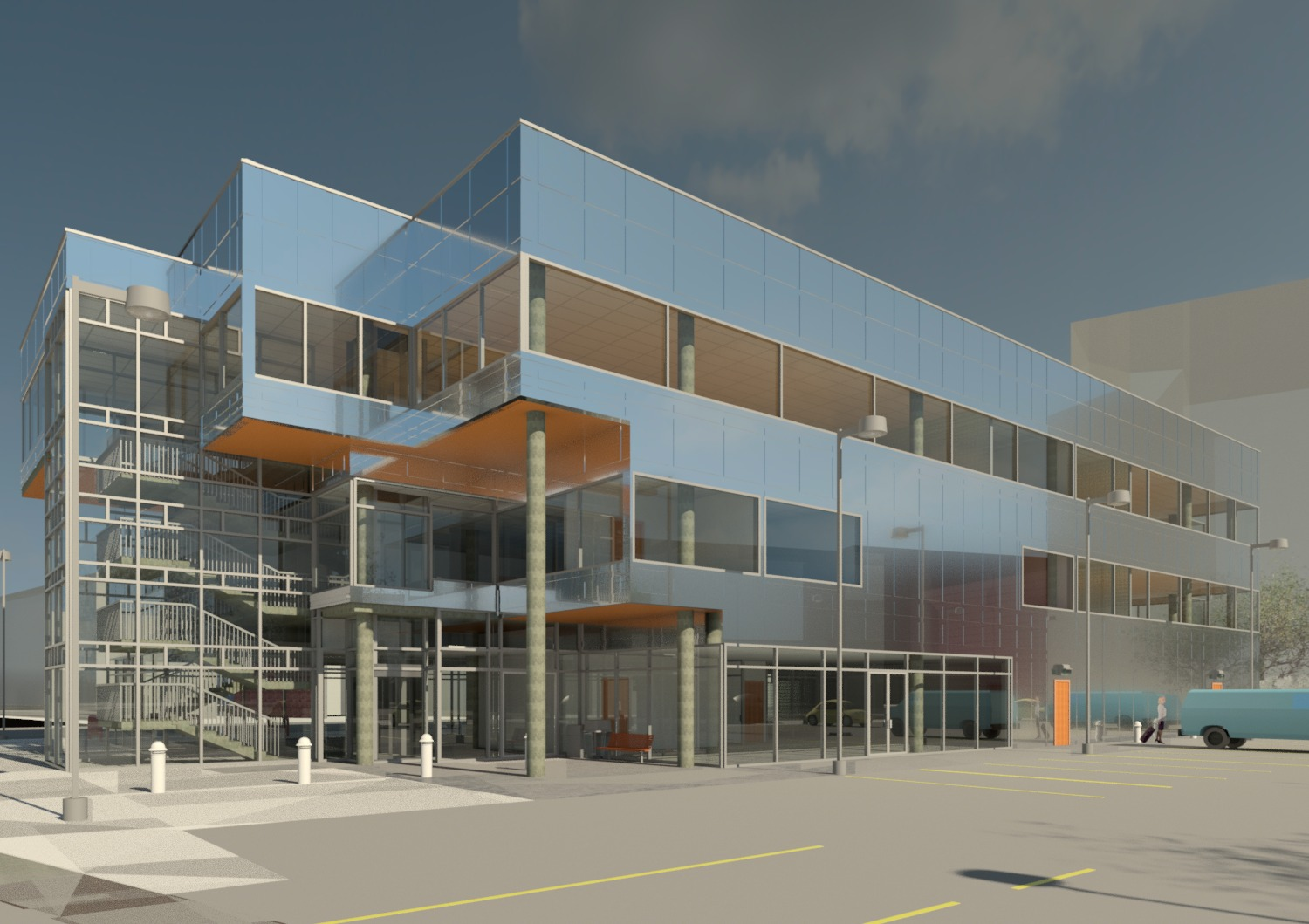 Small Office Building Autodesk Online Gallery